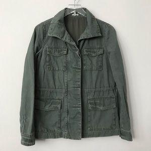UO Ecote Green Utility Jacket in Sz S